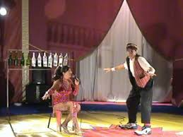 Alciati et Graziella spectacle de Cirque Vendee Loire Atlantique
